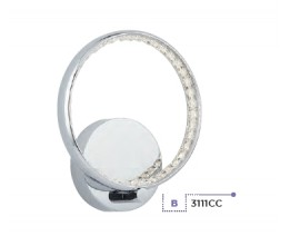 Searchlight 3111CC Rings, LED Fali lámpa