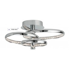 Searchlight 3133-3CC Rings, LED Mennyezeti lámpa