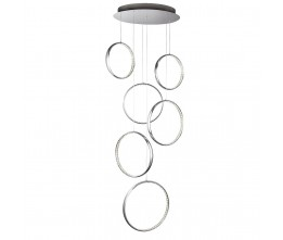 Searchlight 3166-6CC Rings, LED Függeszték