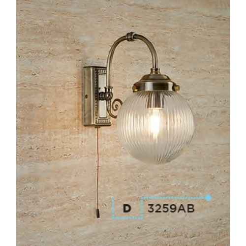 Searchlight 3259AB Belvue, Fali lámpa