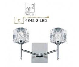 Searchlight 4342-2-LED Ice Cube, LED Fali lámpa