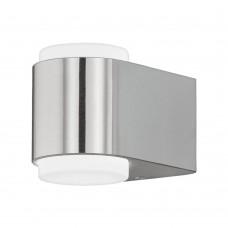 Eglo 95079 AL LED WL/2 Edelstahl Briones