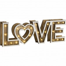 Dekorációs asztali lámpa Globo 29976 LOVE
