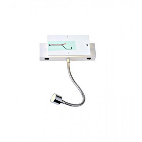 Shrack Technik LI1000615 MANA, Fali lámpatest búra nélkül