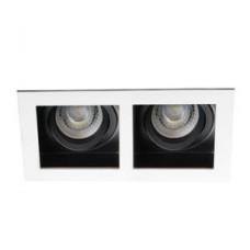 Kanlux 26723 Aret 2XMR16-W pont lámpa foglalat nélkül