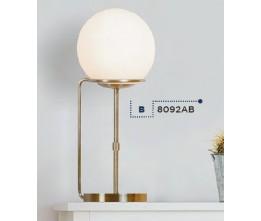Searchlight EU8092AB Sphere, Asztali lámpa