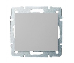 Kanlux LOGI 25184 Egypólusú kapcsoló 10AX - 250V~, ezüst
