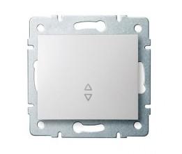 Kanlux LOGI 25072 Váltókapcsoló 10AX - 250V~,fehér