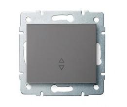 Kanlux LOGI 25250 Váltókapcsoló 10AX - 250V~,grafit