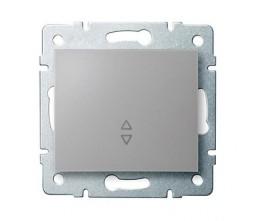 Kanlux LOGI 25191 Váltókapcsoló 10AX - 250V~,ezüst