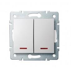 Kanlux LOGI 25079 LED Csillárkapcsoló 10AX - 250V~,fehér