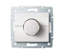 Kanlux LOGI 25082 Forgatógombos fényerőszabályzó 500W  10AX - 250V~,fehér