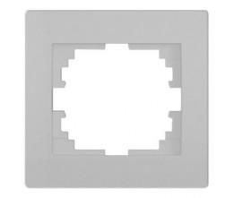 Kanlux LOGI 25235 Vízszintes egyes keret,ezüst