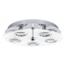 Eglo 30933 DL/5 GU10-LED CHROM/SATINIERT CABO , Mennyezeti lámpa