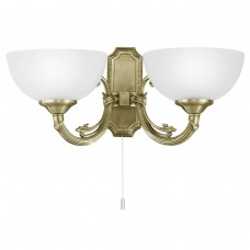 Eglo 82752 WL/2 BRÜNIERT 'SAVOY' Fali lámpa