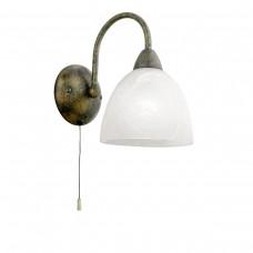 Eglo 89898 WL/1 M.ZUGS.ROSTF./ALABASTER'DIONIS' Fali lámpa