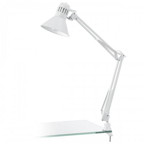 Eglo 90872 TL-KLEMMLEUCHTE/1 WEISS-GLZ/WEISSFIRMO, Asztali lámpa