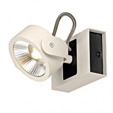 Schrack Technik LI147601   KALU LED 1 fali-és mennyezeti lámpa,1x10W,3000K,fehér/fekete