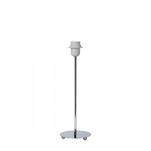 Lucide 61500/40/11 KIDDY  H40cm E27 Chrome, Asztali lámpa búra nélkül