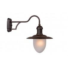 Lucide 11871/01/97 ARUBA Wall Light 1xE27 Frost Glass/Rust