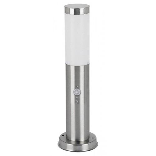 Rábalux 8267 Inox torch,kültéri mozgásérzékelős állólámpa