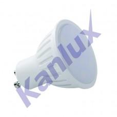 Kanlux  TOMI LED3W GU10-CW Led izzó helyetesiti a  19260,19270termákkodokat)- 22703