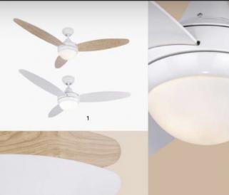 Ventilátoros lámpa: Miért válasszuk inkább a légkondicionáló helyett?